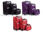 Overstock/Stocklot/Stock/Cancelled shipment 3pcs trolley luggage+3 styles/3 colors+Best price/High quality