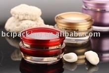 Acrylic jars/cosmetic packaging/cream jars