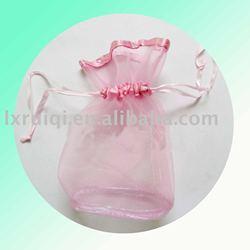 mesh bag,mesh drawstring bag, meash gift bag