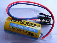 MITSUBISHI BATTERY A6BAT Q6BAT MR-BAT MR-J3BAT FX3U-32BL GT11-50BAT GT15-BAT