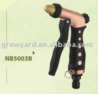 Adjustable metal water spray gun