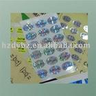 Watch laser sticker/label