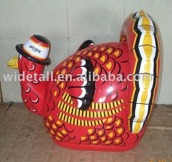 inflatable turkey, inflatable turkey model, inflatable animal toy, inflatable animal toy