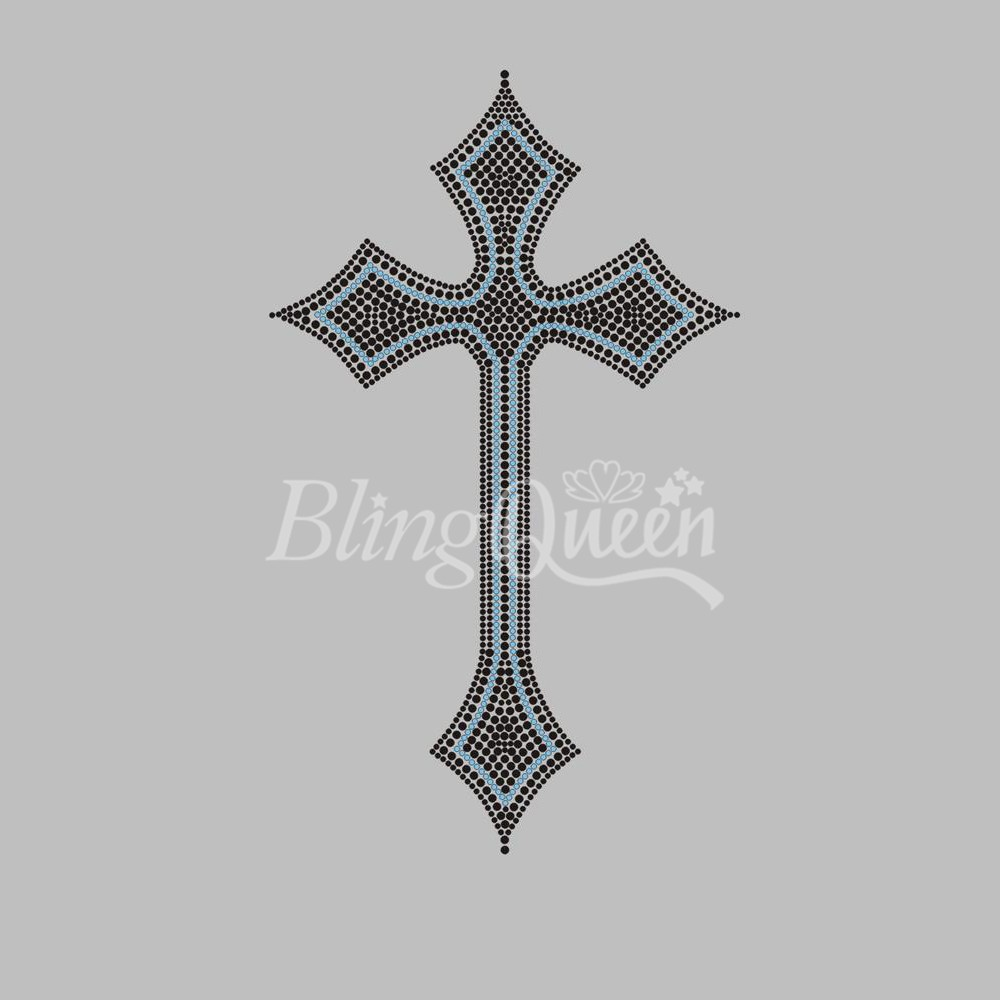 Hot Fix Motif Celtic Cross Design