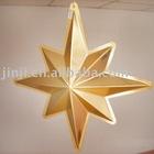Plastic christmas star decoration