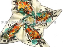 Most hot selling hand hemmed scarf