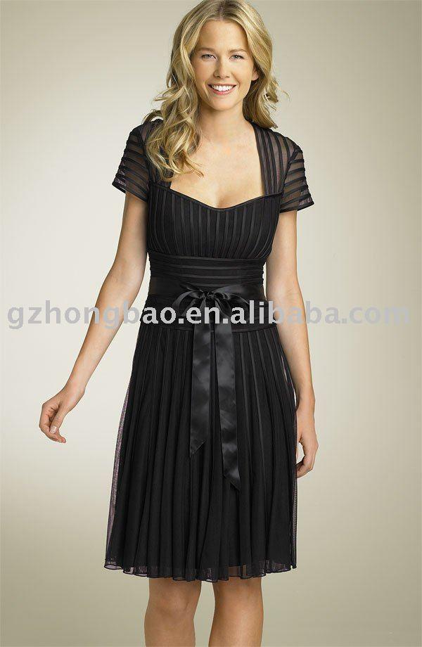 short evening dress