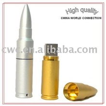 metal bullet 4gb usb drive