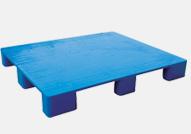 plastic flat nine legs pallet1200*1000