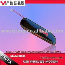 HSDPA 3G 7.2Mbps Wireless hsdpa usb modem