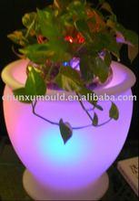 Plastic flower pot, outdoor flower pots, plastic furniture, Roto mold flower pot