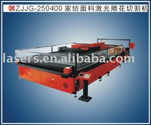 High speed laser fabric cutting machine for curtain
