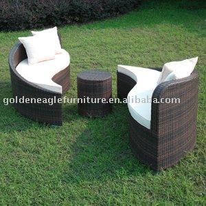 Yin yang freizeitsofa set im garten produkt id 294034499 for Jardin yin yang