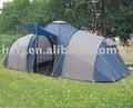de lujo de camping con tienda de habitaciones para la familia