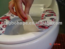 Traveling Sticky Toilet Seat Mat