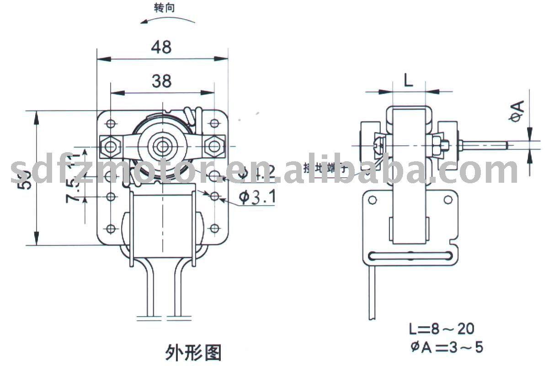 oscillating fan motor pivoting fan motor ce ul view oscillating fan motor fangzhan product