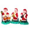 singing and dancing Christmas santa claus