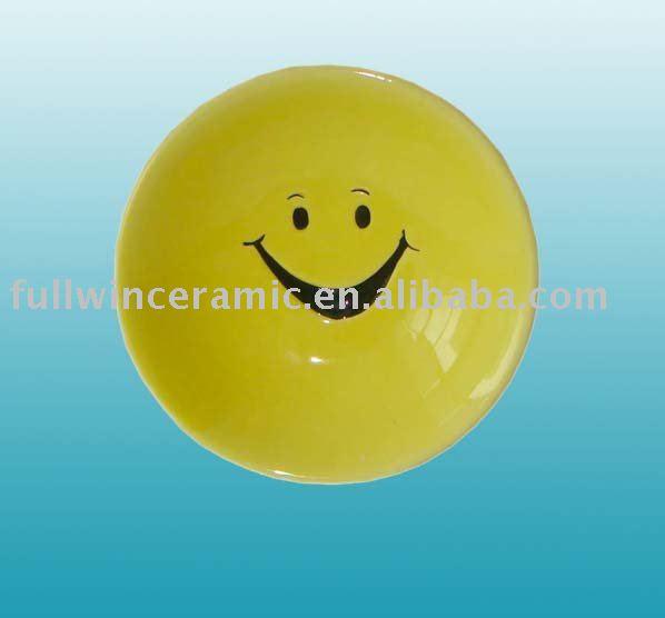 Ceramic Smile Face Bowl