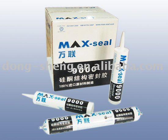 Max-seal 9000 Structural Glazing silicone sealant