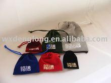 velvet /suede bag, velvet bag, velvet pouch, drawstring bag, gift packaging bag, promotional pouches