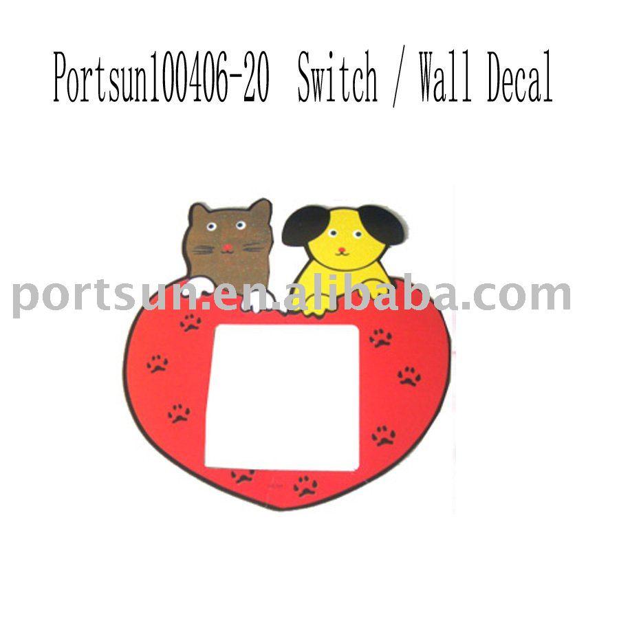 switch paper sticker