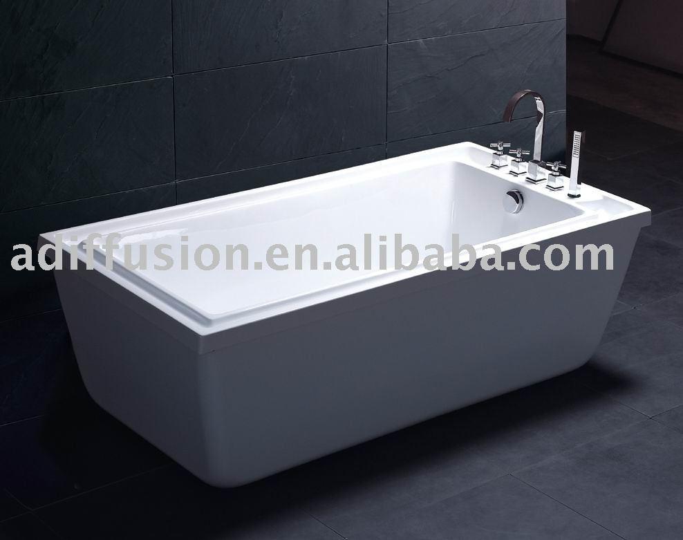 acrylic overflow bathtub view overflow bathtub