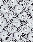 cotton jacquard knitting lace fabric
