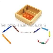 Bead Bars for Teen Board with Box Montessori toy of Montessori material