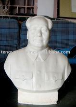 famous chairmen mao bust sculpture