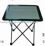aluminum foldable camping table