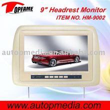 9inch pillow headrest monitor