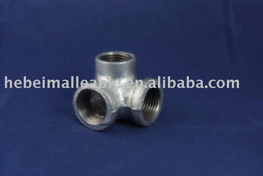 Npt tubo galvanizado montaje- codos salida lateral
