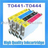 compatible Epson Stylus C64 C66 C84 compatible ink cartridge for Epson T0441 T0442 T0443 T0444