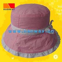 Girl's Pink Bucket Fashion Hat HWH-1001009