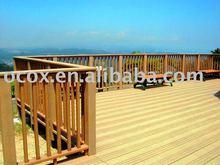 ocox wood plastic composite outside decking