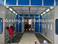 cabina de pintura industrial de fabricación