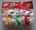 5*3 muñeco de nieve de navidad