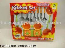 Utensilios de cocina conjunto de juguete( cj1003031)
