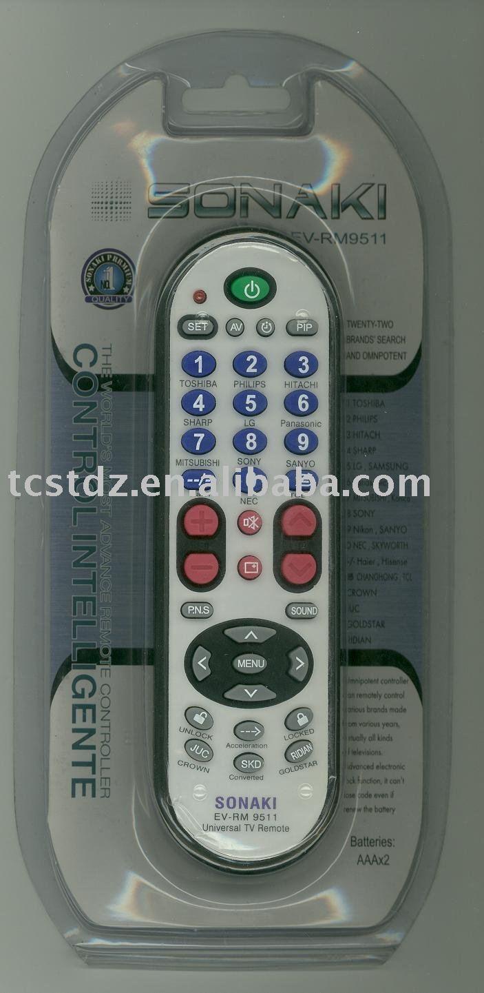 Más nuevo RM-9511 UNIVERSAL TV de CONTROL remoto, Para todas las marcas de tv, Push TO trabajo