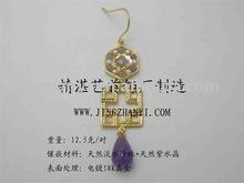 opal earrings ORDER-12016E(Custom Design)