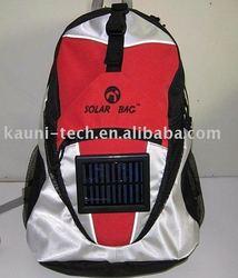 solar charging backpack/solar energy bag/solar backpacks(OEM/ODM)--KA-SBP038