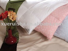 Good quality white duck down duvet for home and hotel warm down quilt
