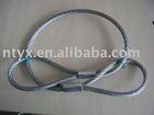 steel wire rope rigging, slings