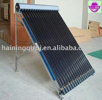 vacuum tube collector (CE,solar keymark)