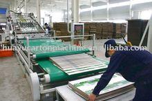 OYH 2012 carton packing laminating machine
