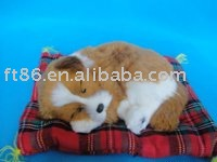 christmas craft gift/ Christmas Holiday Gift/fashion sleeping dog