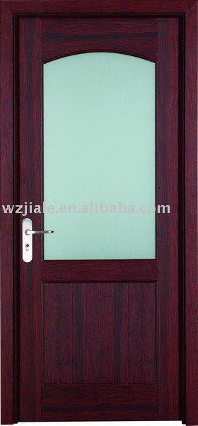 Cristal decorativo de la puerta interior para cuarto de for Puerta para bano interior