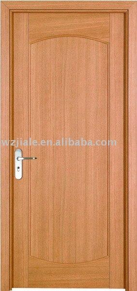 Interior de madera maciza puerta para el dormitorio for Puertas de madera maciza para interior