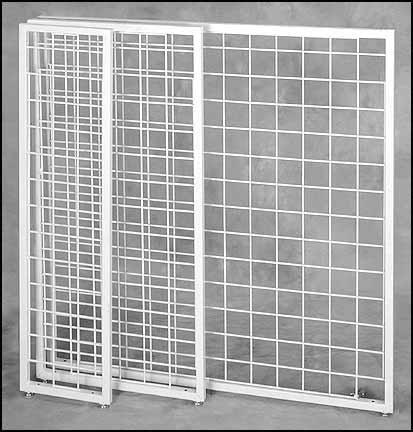 framed grid panels