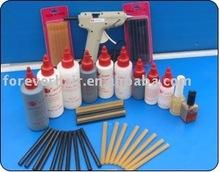 Keratin glue stick and bond remover